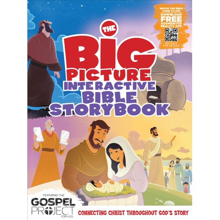 The Big Picture Interactive Bible Storybook, Hardcover : Connecting Christ Throughout God's Story