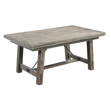 Leaf Table Base - Emerald Home Dakota Charcoal 68