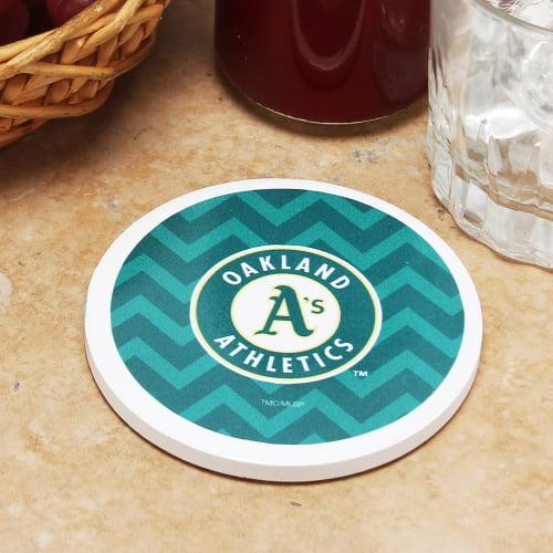 Oakland Athletics Single Chevron Coaster - No Size