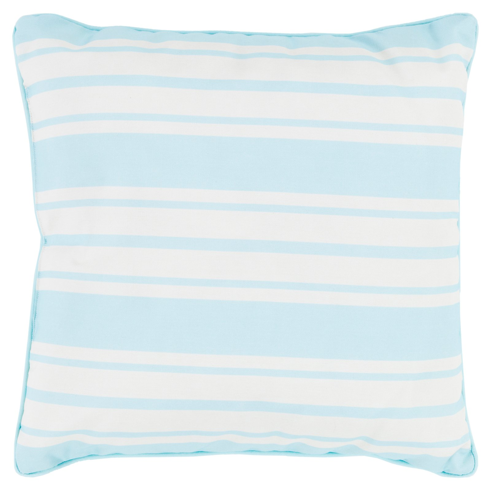 Surya Nautical Stripe Indoor/Outdoor Pillow