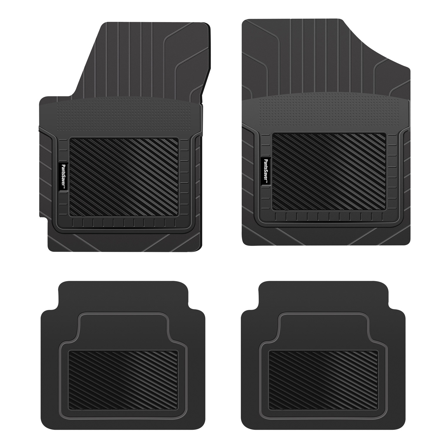 Heavy Duty Total Protection Tan Trucks SUV Van PantsSaver Custom Fit Automotive Floor Mats for Acura TLX 2020 All Weather Protection for Cars