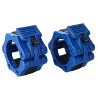 2Pcs Gym Fitness Barbell Spinlock Collars Dumbbell Clips Weight Bar Locks