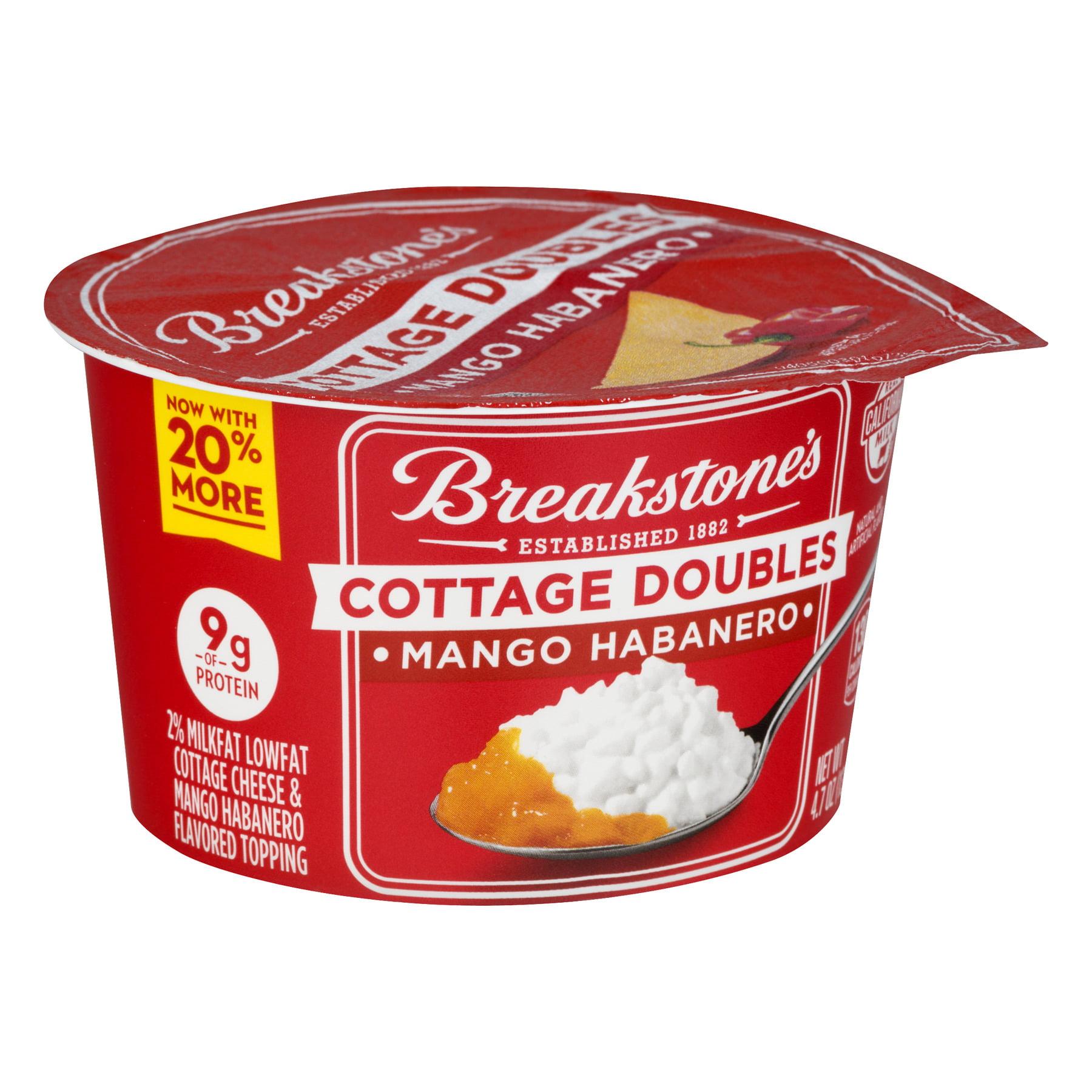 breakstones cottage doubles mango habanero cottage cheese 4 7 oz