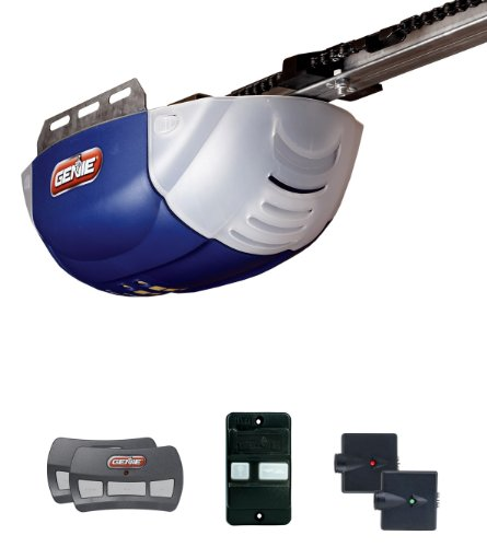 Genie 37000r Garage Door Opener with 1/2 HPC DC Chain, 2022-2tx