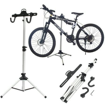 Adjustable Foldable Bike Bicycle Maintenance Mechanic Repair Tool Rack Work Stand Holder - Mechanic Work Stand