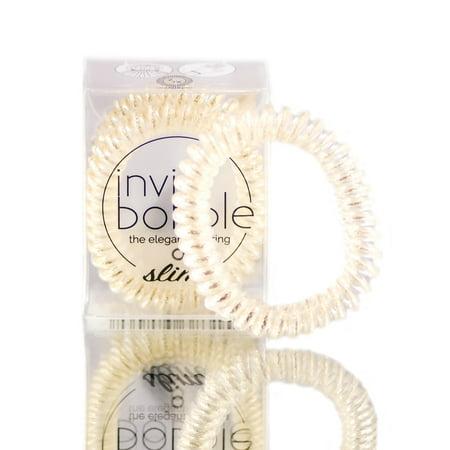 Invisibobble Slim The Elegant Hair Ring - Stay Gold - Walmart.com d69eab3b09f
