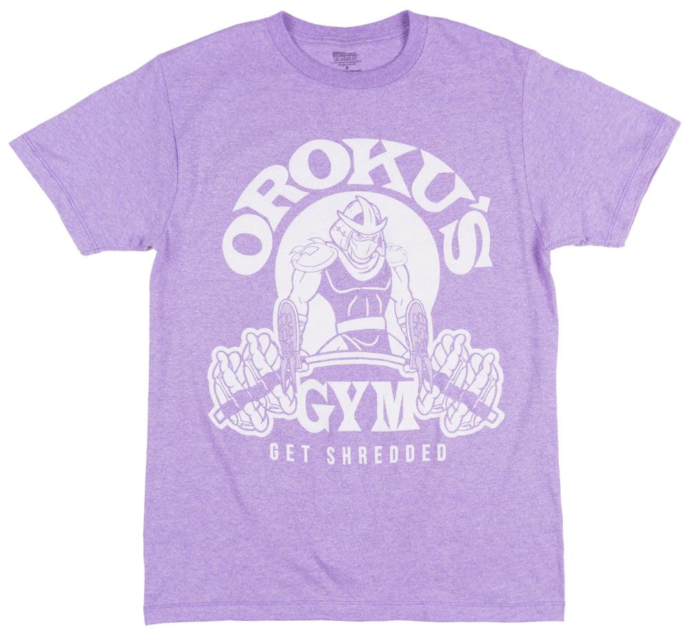 Teenage Mutant Ninja Turtles Orokus Gym T-Shirt Purple Mens