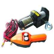 Electric Winch 1500 Pound 12 Volt Atv 4 Wheeler Boat Trailer W/ Remote Four