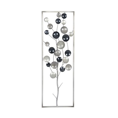 Tree Framing (Decmode Contemporary Metal Abstract Tree Framed Wall Decor,)