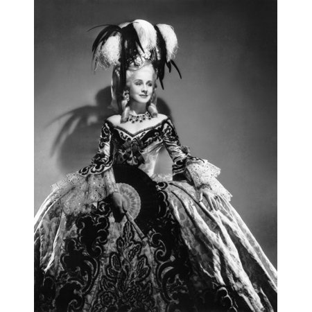 Marie Antoinette Norma Shearer In A Costume By Adrian 1938 Photo - Costumes Marie Antoinette