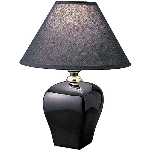 ORE International Urn-Shaped Table Lamp, Black by ORE INTERNATIONAL INC