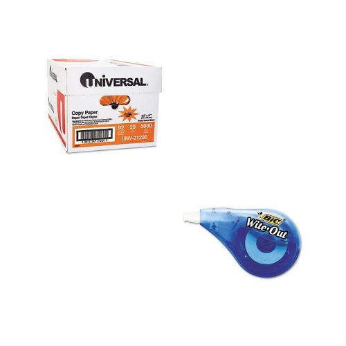 Shoplet Best Value Kit - BIC Wite-Out EZ Correct Correction Tape (BICWOTAPP11...