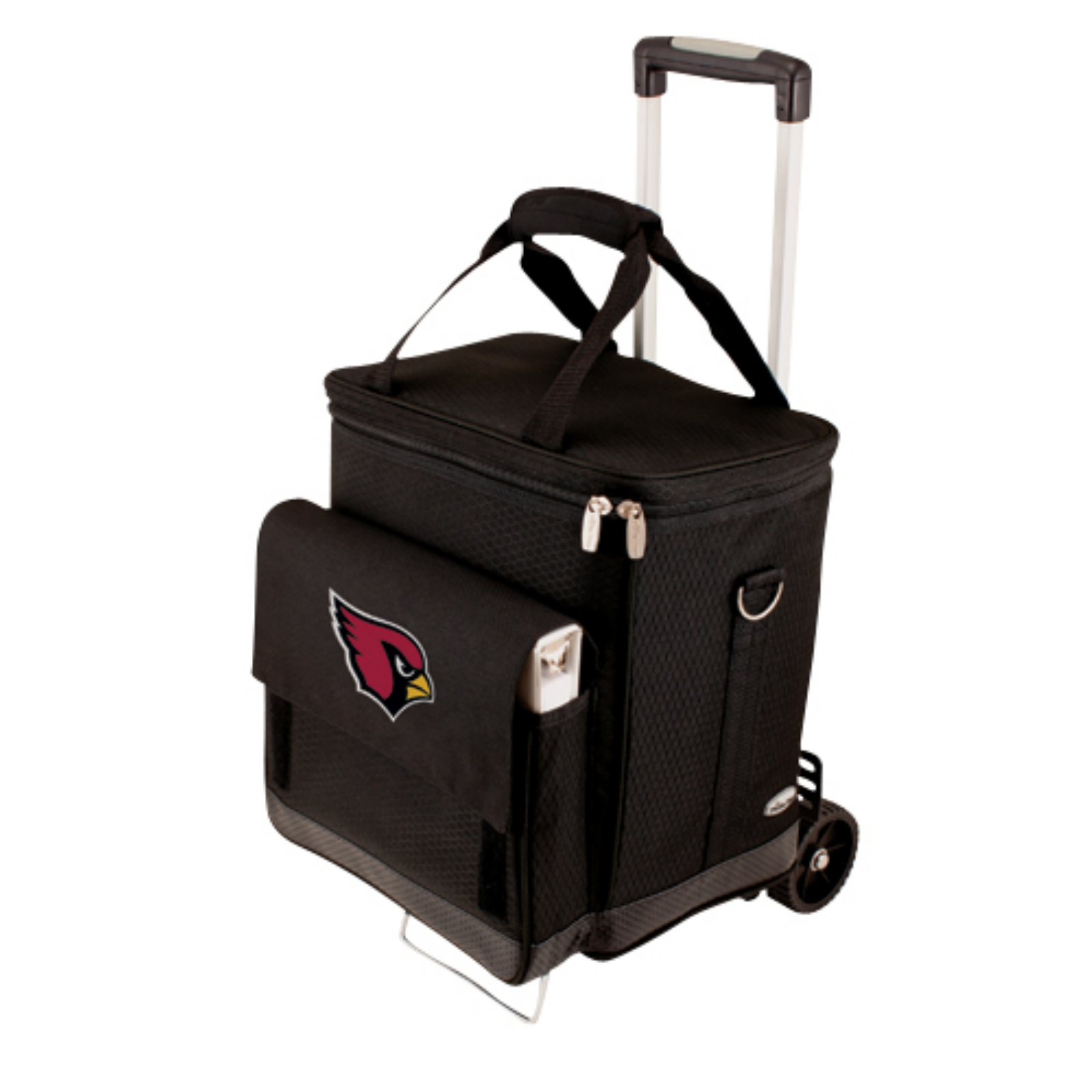Picnic Time Cellar with Trolley, Black Arizona Cardinals Digital Print