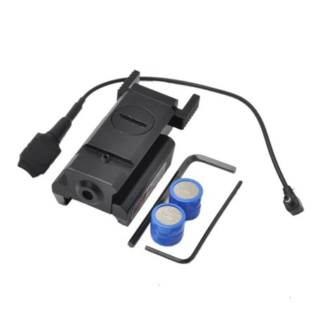 Tactical Forearm Rail - Red Dot Laser Sight Tactical 20mm Picatinny Weaver Rail Mount Pistol Gun Rifle with Switch
