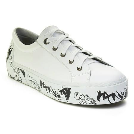 Lanvin Lanvin Mens Leather Graffiti Sole Derby Sneaker Shoes