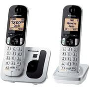 Panasonic KX-TGC212S Expandable Digital Cordless Phone with 2 Handsets