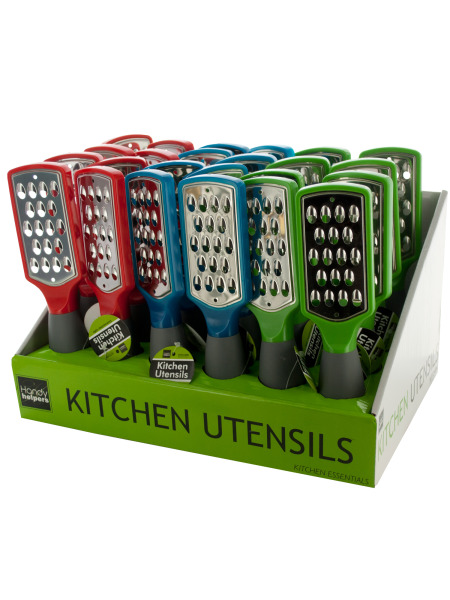 Cheese Grater Counter Top Display (Case of 24 ) by Handy Helpers
