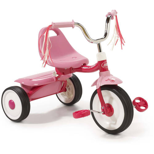 Radio Flyer Ready-To-Ride Folding Tricycle, Red
