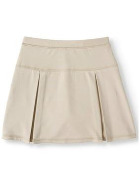 Wonder Nation Girls 4-16 School Uniform Performance Scooter Skirt