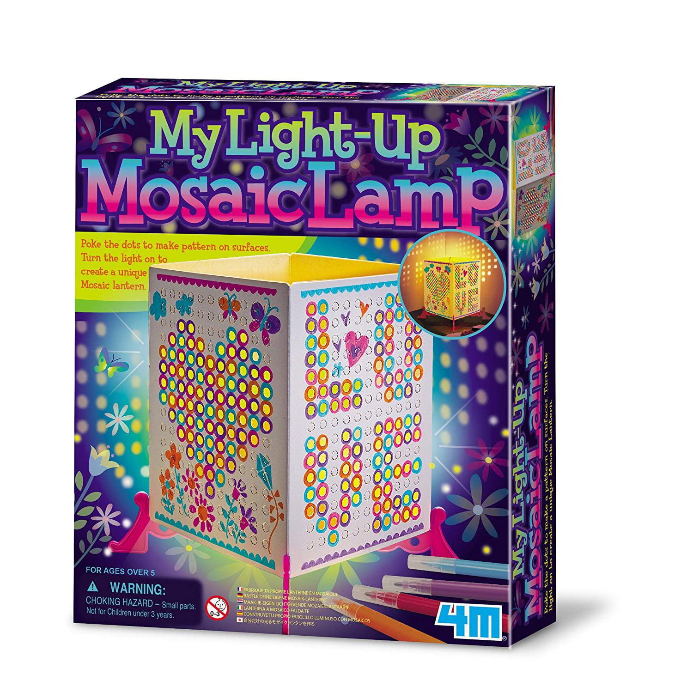 4M Make Your Own Mosaic Lamp Kit