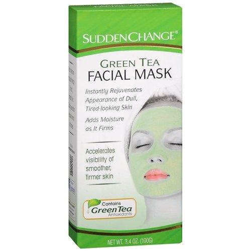 Sudden Change Green Tea Facial Mask 3.4oz (2 Pack)