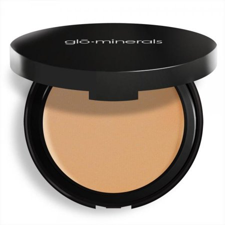 Glo Minerals Honey Light Pressed Base Powder Foundation, 0.35 Ounce