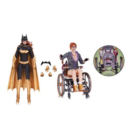 Batman Arkham Knight Oracle & Batgirl Action Figure 2-Pack (Batgirl Dark Knight)