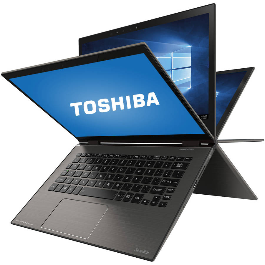 "Refurbished Toshiba Satellite P25W-C2300-4KB 12.5"" Laptop, touch screen, 2-in-1, Windows 10, Intel Core i7-6500U Processor, 8GB RAM, 256GB Solid State Drive"