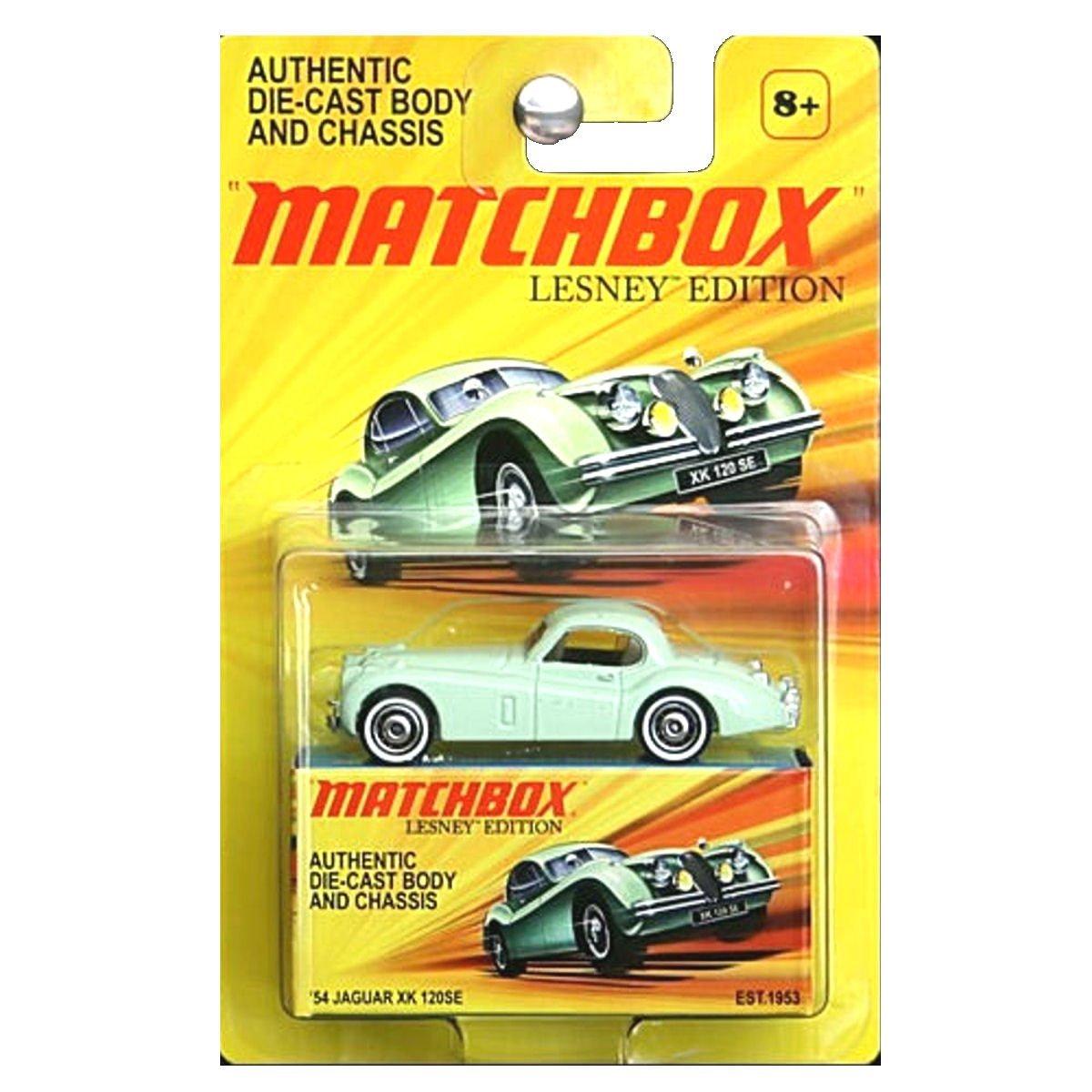 2010 Lesney Edition '54 Jaguar XK 120SE Die-Cast, Matchbox By Matchbox by