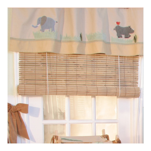 Brandee Danielle On Safari 36'' Curtain Valance