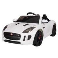 White 1:4 Jaguar F-Type Race Car