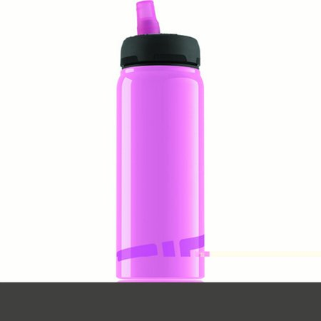 Sigg Water Bottle - Active Top - Pink - .75 Liter Water (Sigg Replacement Top)