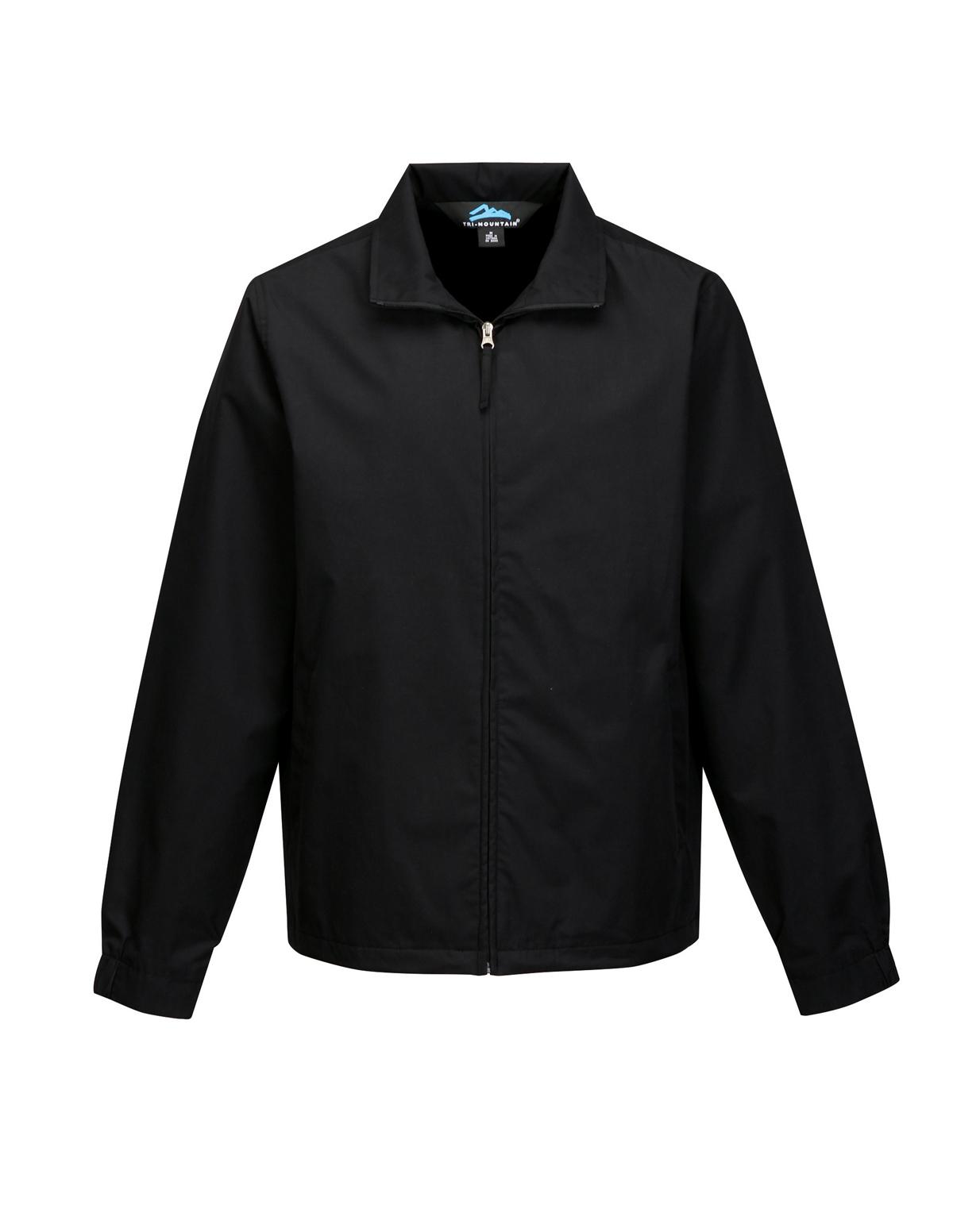 Tri-Mountain Radius J5308 Lightweight Windoroof Jacket, 2X-Large, Black/Black