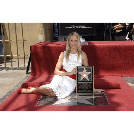 Cameron Diaz At The Induction Ceremony For Star On The Hollywood Walk Of Fame Ceremony For Cameron Diaz Hollywood Boulevard Los Angeles Ca June 22 2009 Photo By Michael - Stars On The Walk Of Fame