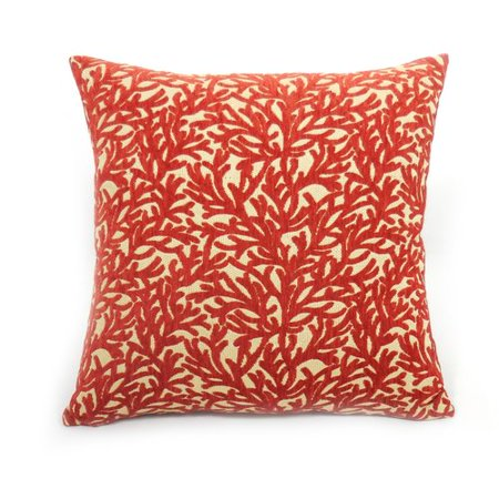 Better homes and gardens sea coral decorative pillow - Better homes and gardens pillows ...