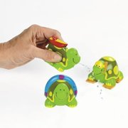 Beach Turtles - Party Favors - 12 Pieces