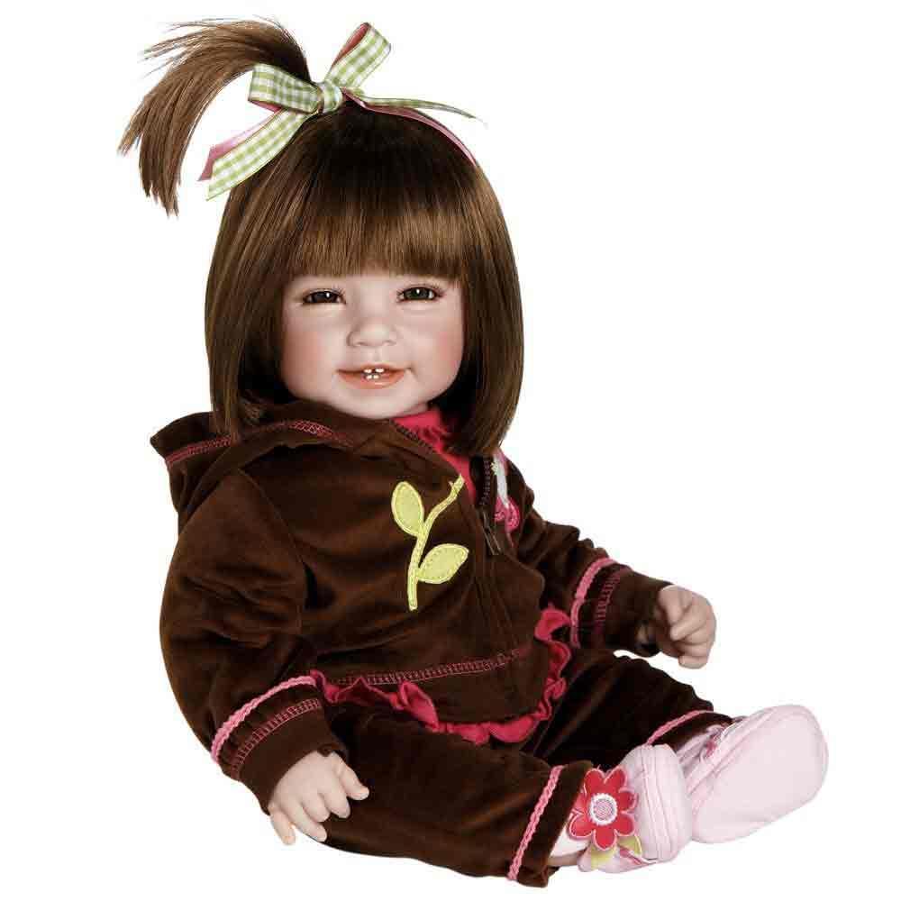 Adora Dolls Baby Doll ''Workout Chic'' Brown Hair / Brown Eyes
