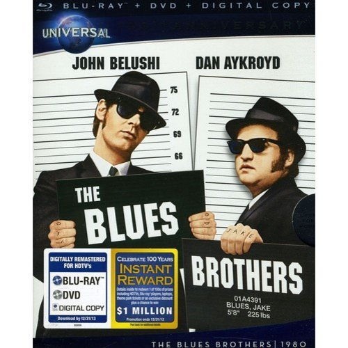 The Blues Brothers (Blu-ray   DVD) (With INSTAWATCH)