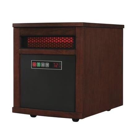 Duraflame Portable Electric Infrared Quartz Heater Oak