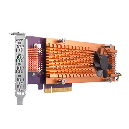 QNAP Quad M.2 2280 PCIe (Gen2 x4) NVMe SSD Expansion (Angelbird Wings Px1 Pcie X4 M 2 Adapter)