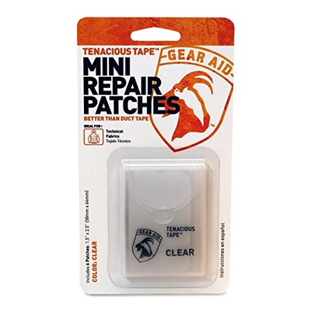 Gear Aid Tenacious Tape Mini Repair Patches Clear