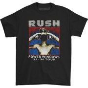 Rush Men's  Power Windows T-shirt Black