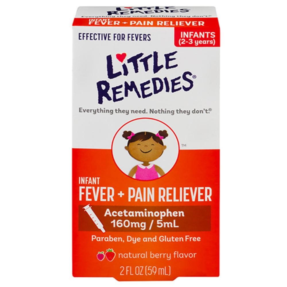 Little Remedies Fever Pain Reliever, Natural Mixed Berry Infants, 2 Fluid Ounce []