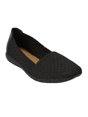 Comfortview Women's Wide Width The Bethany Flat  Shoes