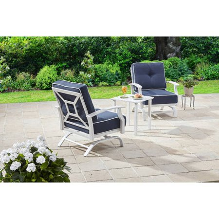 Better Homes And Gardens Carter Hills 3 Piece Outdoor Chat Set Seats 2