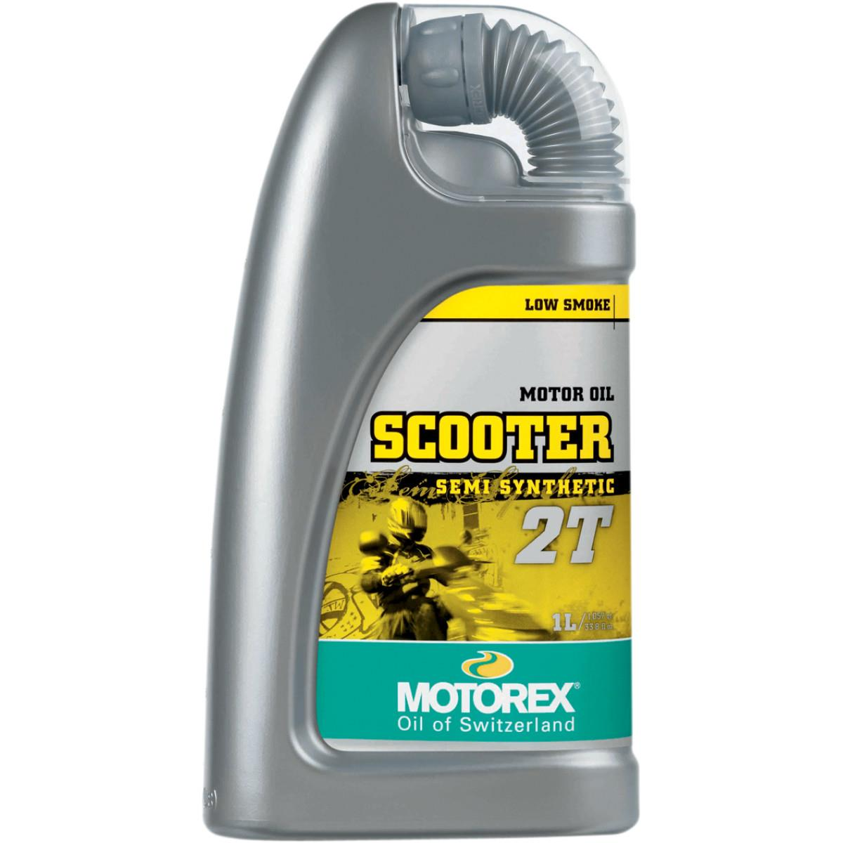 Motorex 102248 Scooter 2T Oil - 1L.