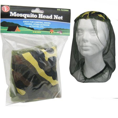Mosquito Head Net Camping Fishing Hiking Army Mesh Hat Insects Bug Bee Repellant - Eno Guardian Bug Net