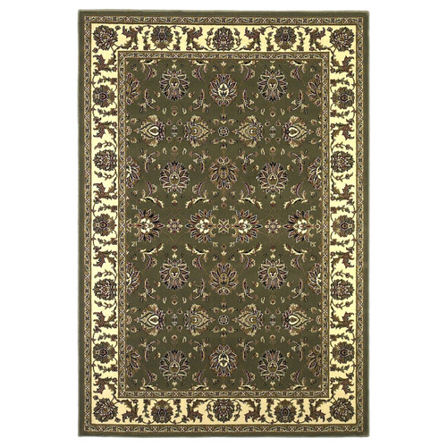 KAS Rugs Cambridge Green / Ivory Area Rug