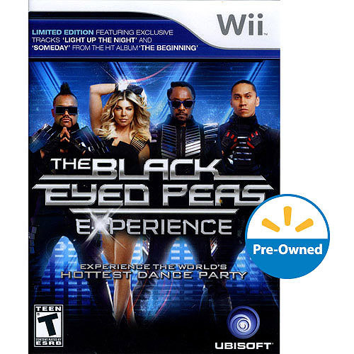 The Black Eyed Peas Experience (Wii) - Pre-Owned