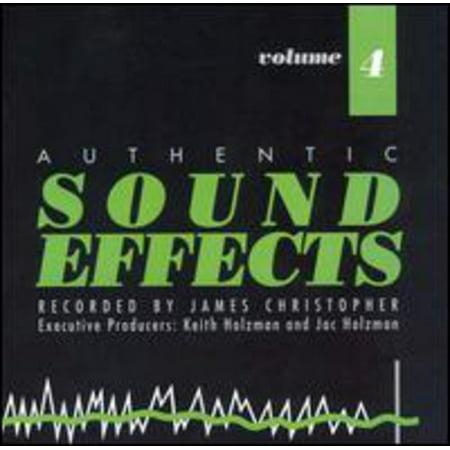 Sound Effects - Sound Effects: Vol. 4 [CD] (Best Halloween Sound Effects App)